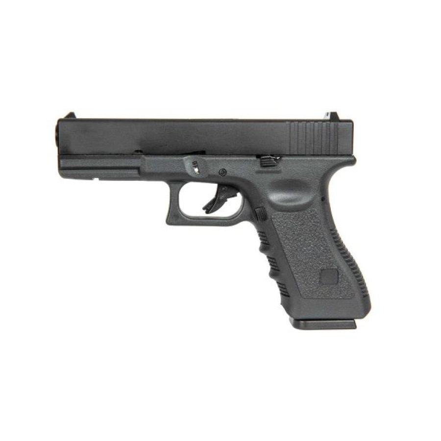 Airsoft pistoletas Glock 17 Blow-Back