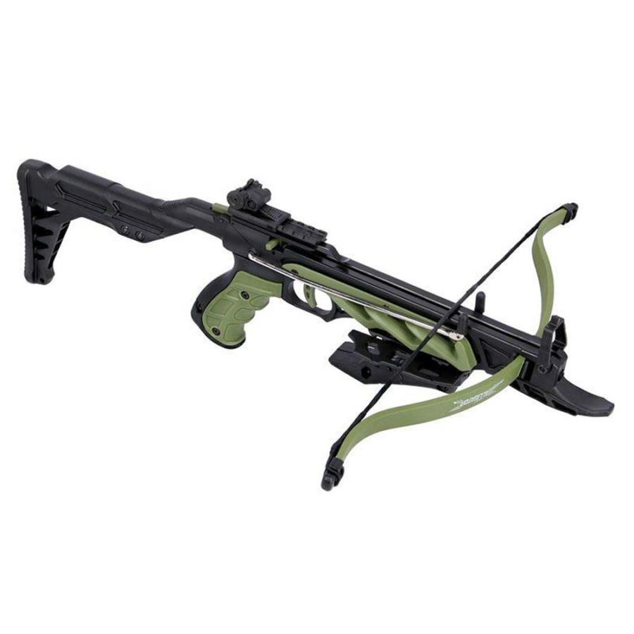 Pistoletinis arbaletas Alligator / žalias