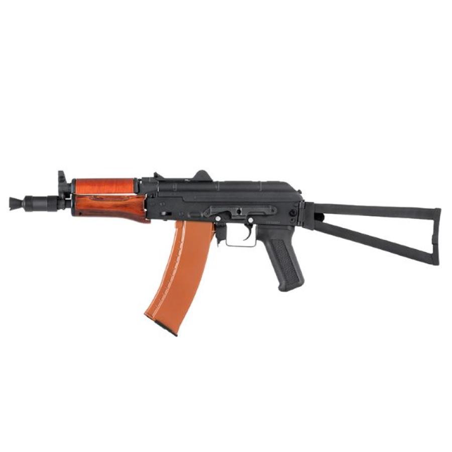 Airsoft ginklas AK-74U metalas+medis