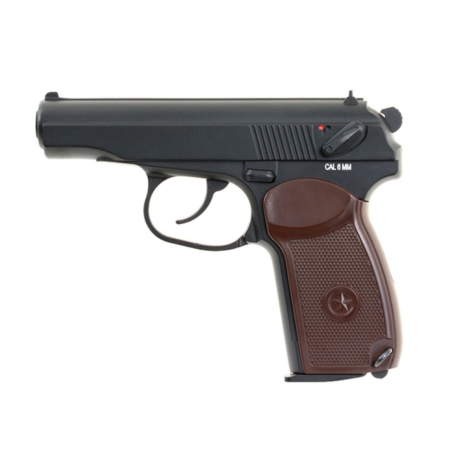 Airsoft pistoletas Makarov PM Blowback