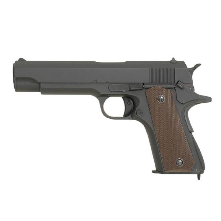 Elektrinis pistoletas Colt rudas