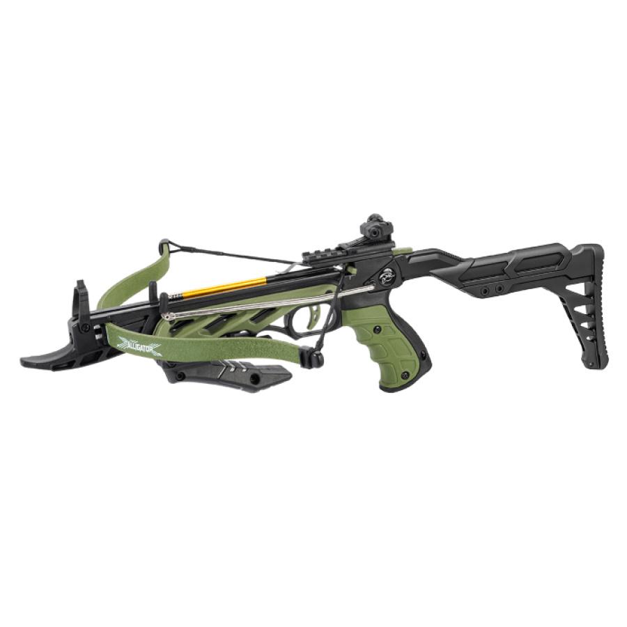 Pistoletinis arbaletas Alligator (Žalias)