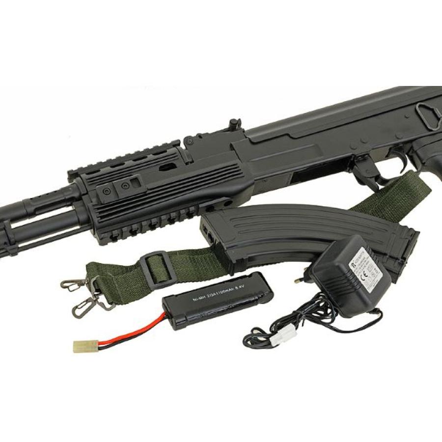 Airsoft automatas AK-47, juodas