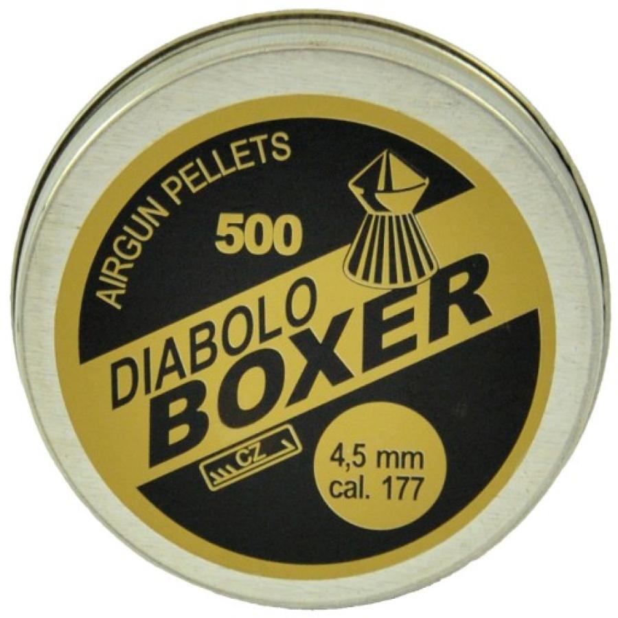 Šoviniai Boxer 4.5mm 500vnt