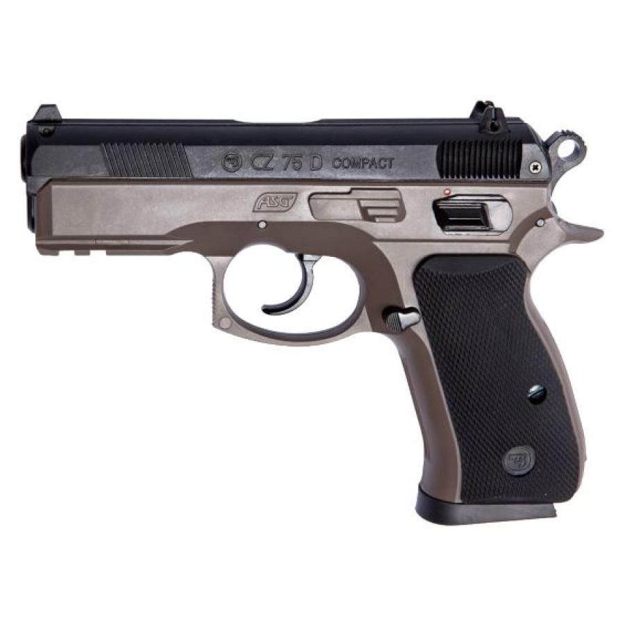 Airsoft pistoletas CZ 75D Compact-flat dark earth