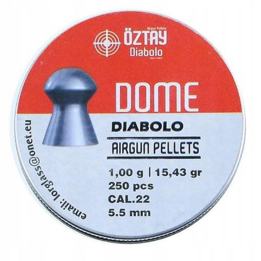Šoviniai Oztay Dome 5,5mm 250vnt
