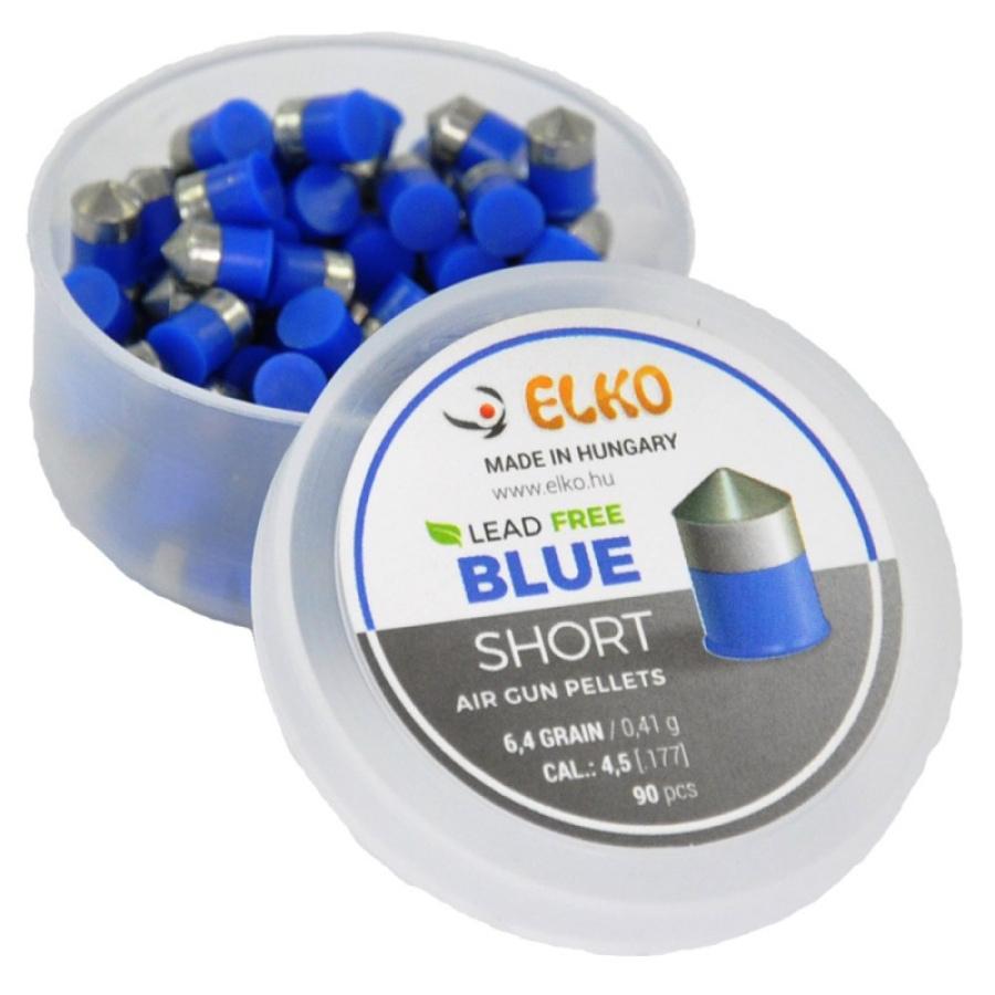 Šoviniai Elko Blue Short 4.5 mm 90vnt
