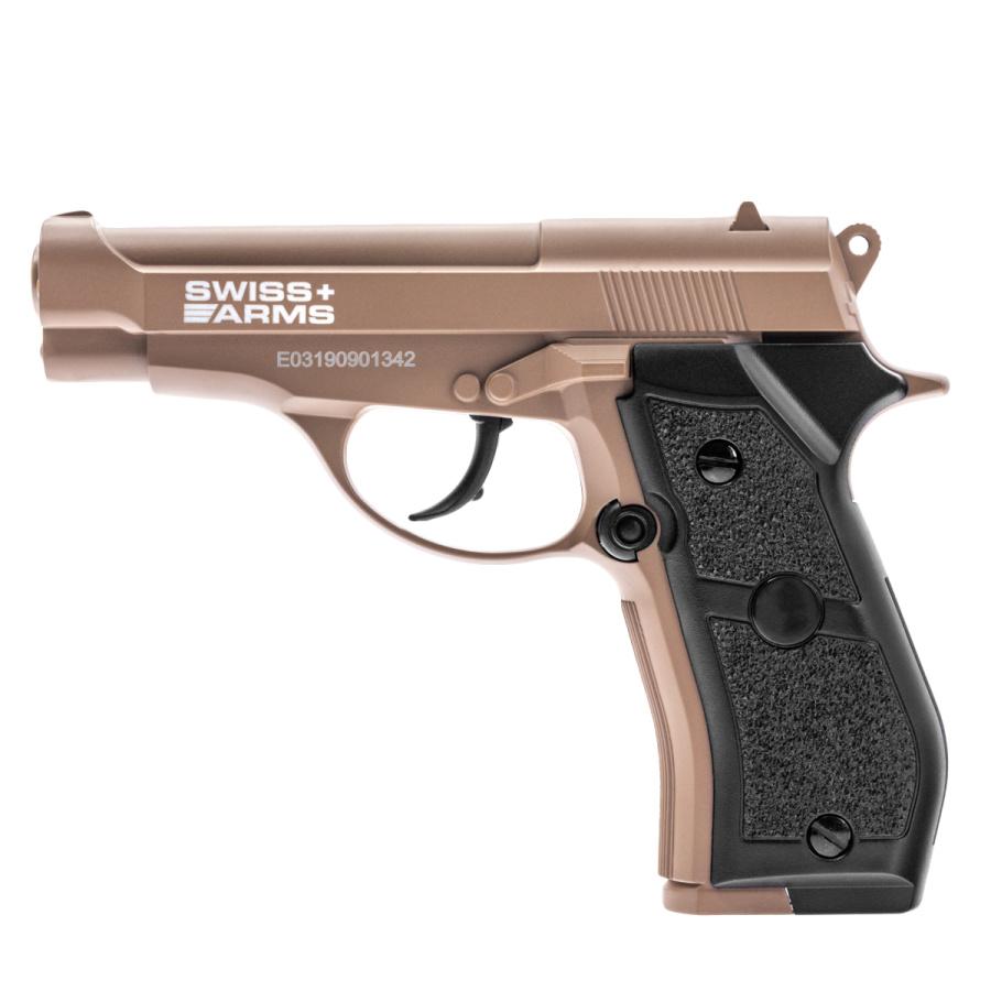 Pneumatinis pistoletas Swiss Arms P84 Tan