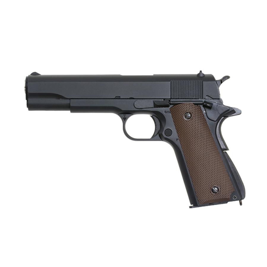 Airsoft pistoletas Colt 1911 Green Gas [Blowback]