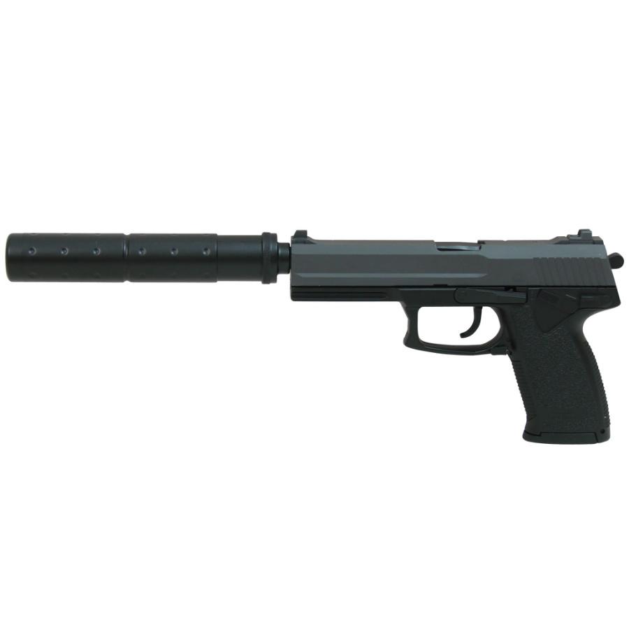 Vienašūvis airsoft pistoletas su duslintuvu DL60