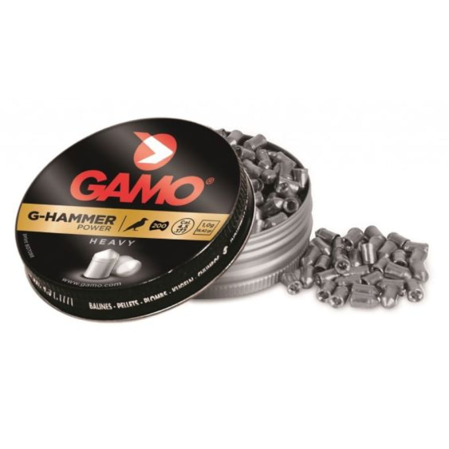 Šoviniai Gamo G-Hammer 4.5mm 200vnt