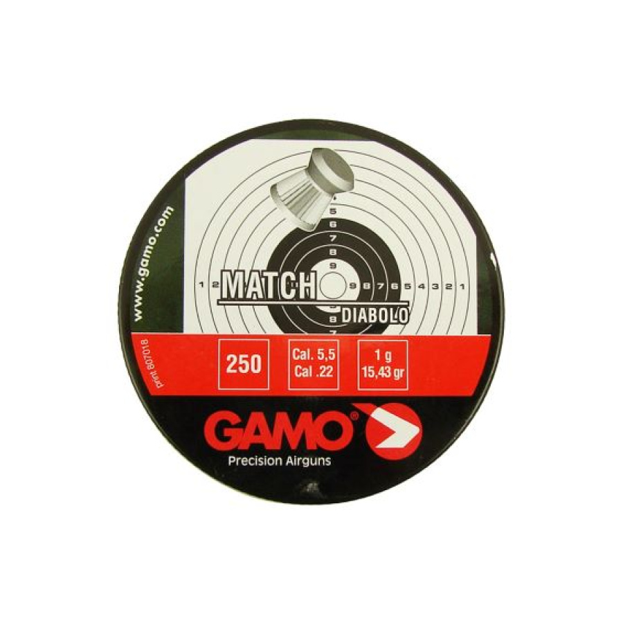 Šoviniai GAMO Match 5.5mm 250vnt