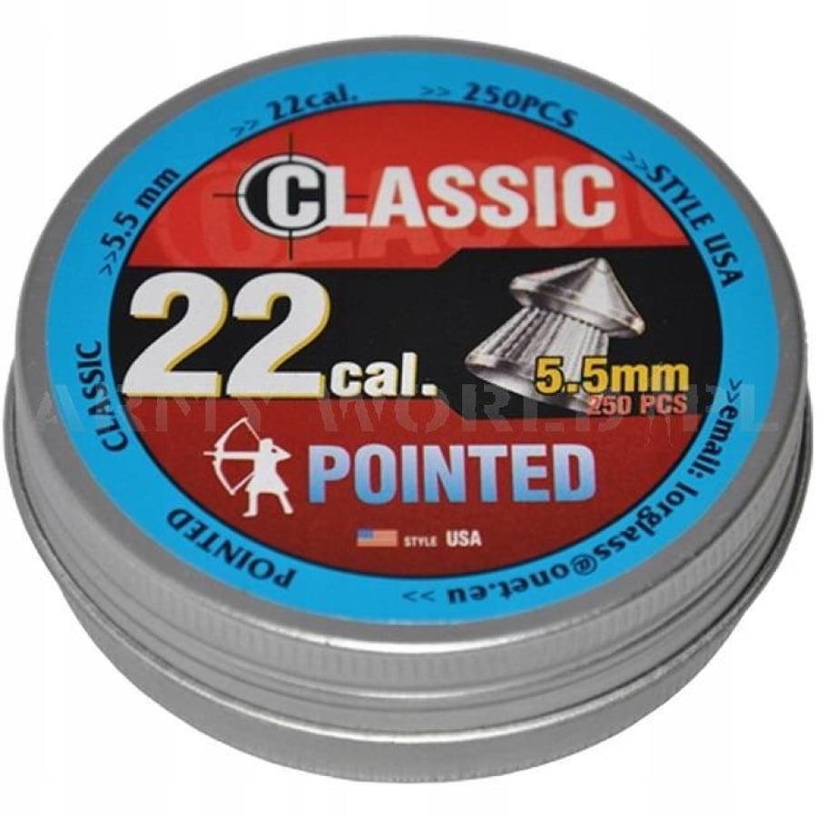 Šoviniai Classic Pointed [USA] 5.5mm 250vnt