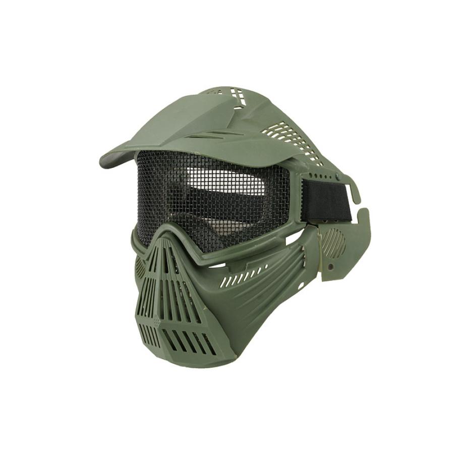 Veido kaukė Guardian žalia